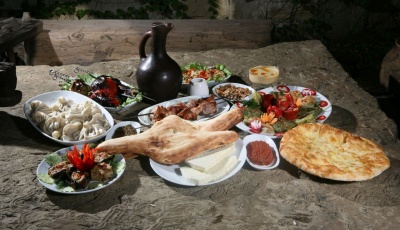 Dining in the Caucasus