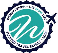 We've been named to Wendy Perrin's 2016 WOW List of Trusted Travel Experts!