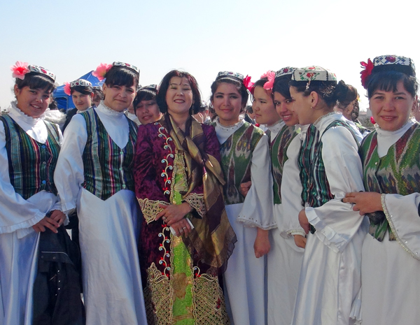 New Year Celebration in Central Asia