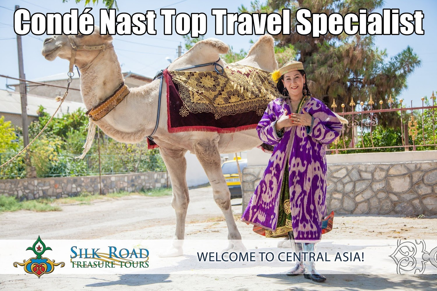 zulya rajabova conde nast top travel specialist for central asia cr zulya