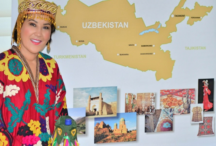 zulya rajabova invites to travel to uzbekistan