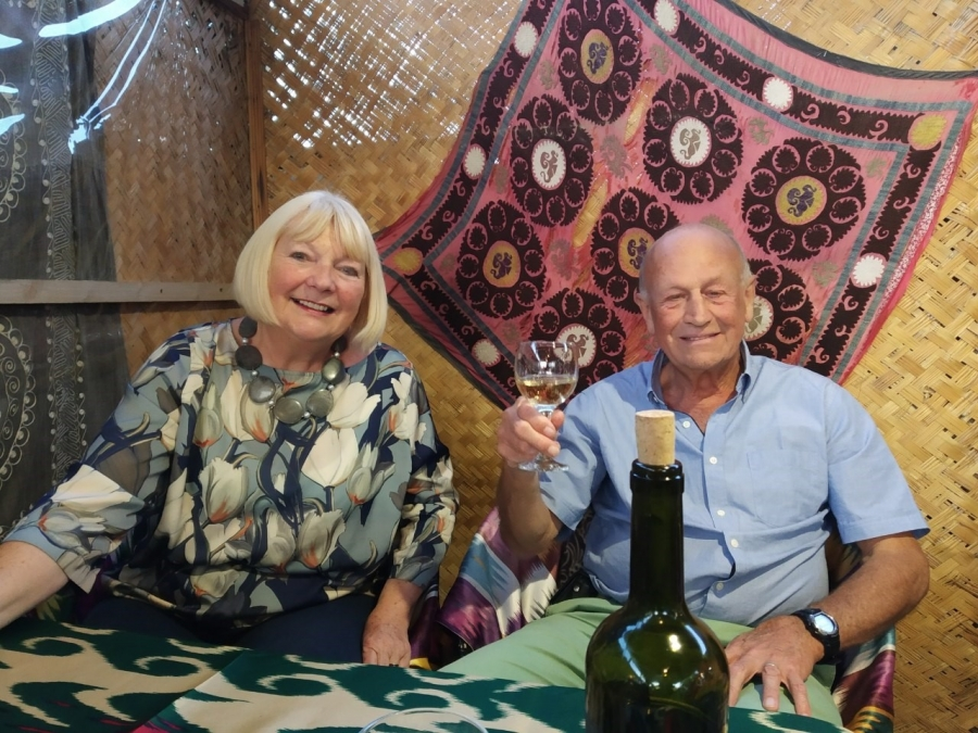Glenys and Tony Rigby, May, 2019