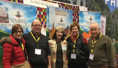 Central Asia Tour Experts at the New York Times Travel Show