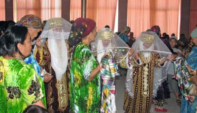 The Ceremony of Uzbekistan Sallabandon