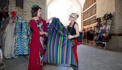 101 Varieties of Uzbekistan Ikat
